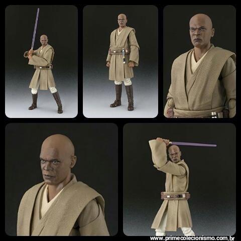 Mace Windu S.H. Figuarts Bandai Star Wars Episode II: Attack of the Clones Original