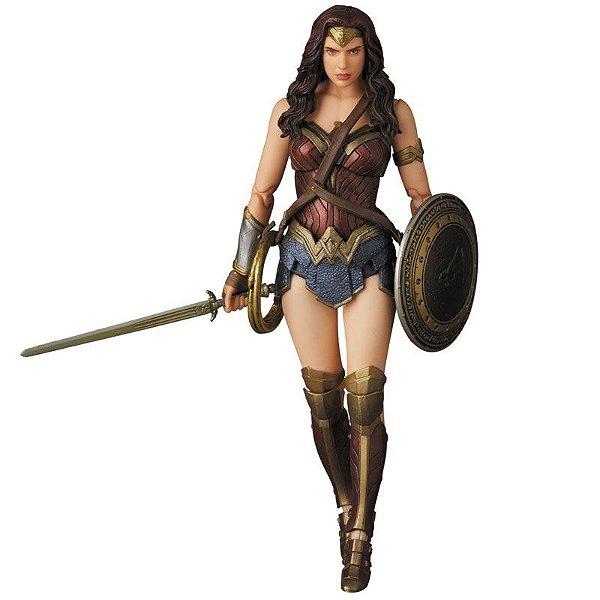 Mulher Maravilha MAFEX No.024 Batman vs Superman: Dawn of Justice Medicom Toy Original