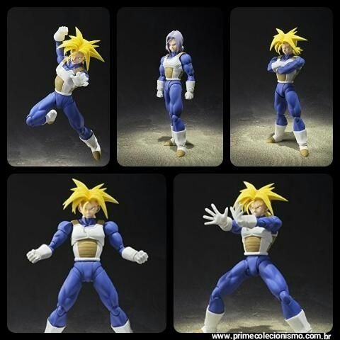 Super Trunks Super Sayajin S.H. Figuarts Dragon Ball Super Bandai Original