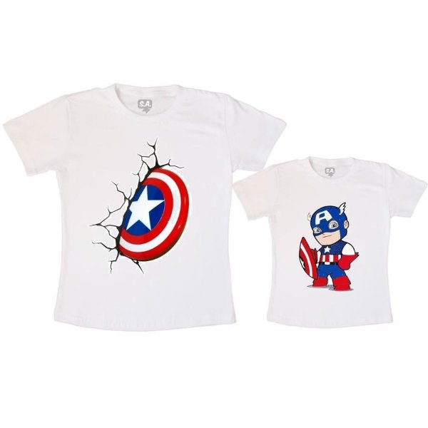 Camiseta Tal Pai, Tal Filho - Capitão