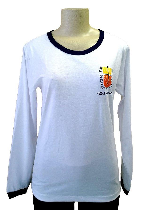Camiseta escolar Manga Longa - CRISTO REI