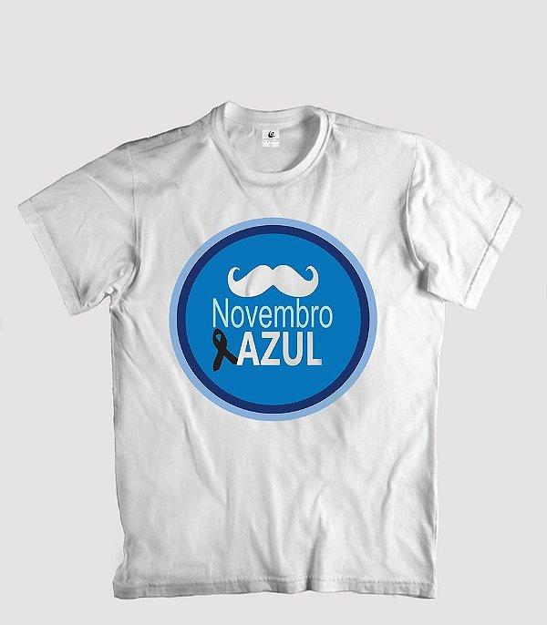 Camisetas do Novembro Azul - mod 2