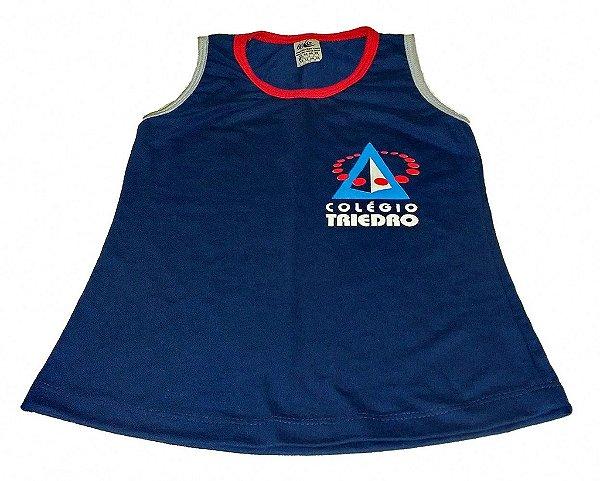 Vestido - Azul Marinho - Colégio Triedro