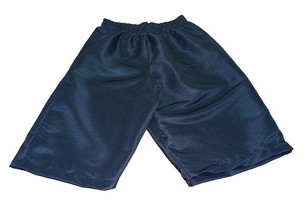 Shorts Tactel - Azul Marinho - Colégio Átomo