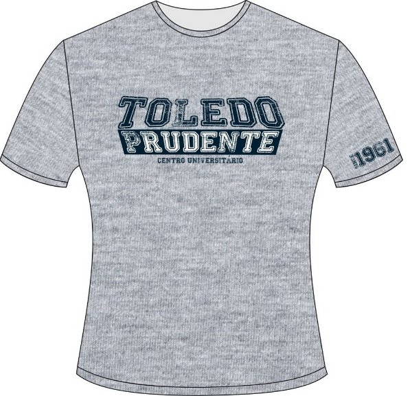 Camiseta Aluno Toledo Mescla - Cursos