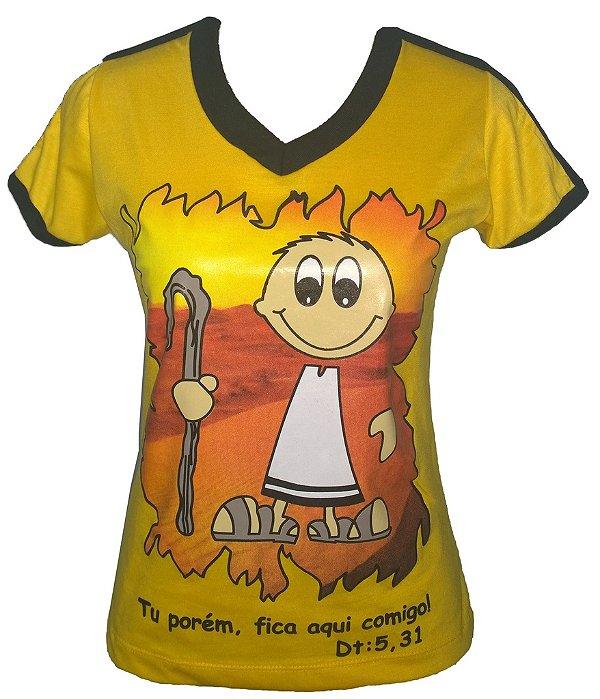 Camiseta Curso Moisés - Escola de Evangelização Santo André