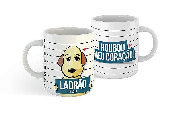 Caneca Porcelana - Cão Ladrão