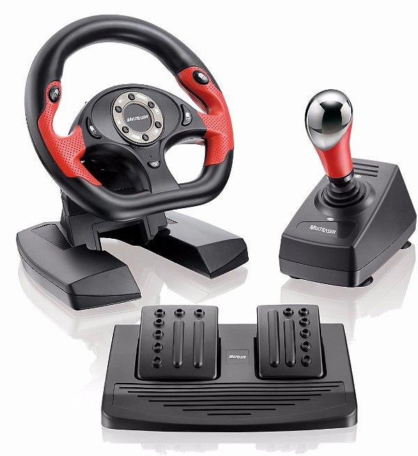 PRO50: Volante para PS2/ PS3 e PC com Pedal e Cambio
