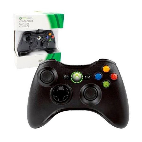 Controle Wireless Original preto - Xbox 360