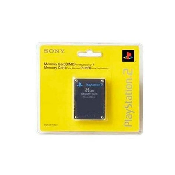 Memory Card Sony 8 MB para PS2