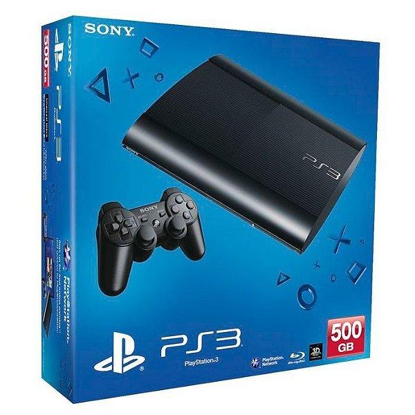 Playstation 3 Super Slim - 500 GB