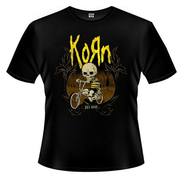Camiseta Korn