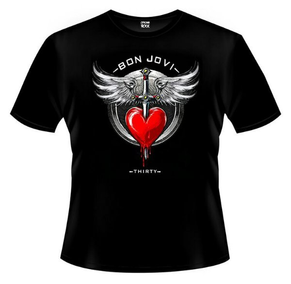Camiseta Bon Jovi - Thirty