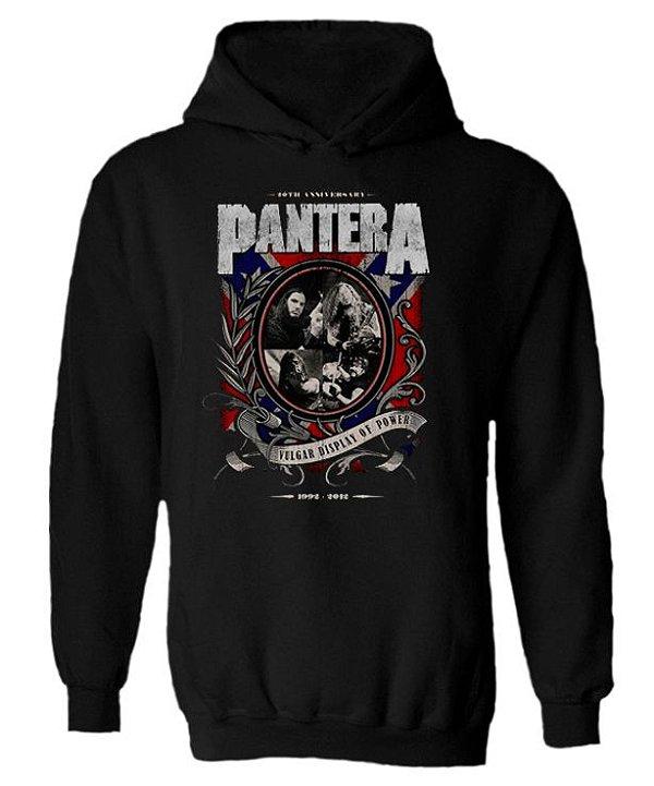Blusa de Moletom com Capuz Pantera - Confederados