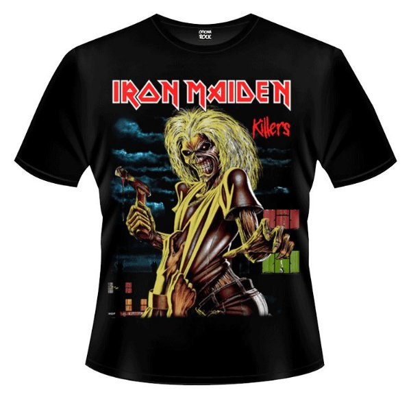 Camiseta - Iron Maiden - Killers
