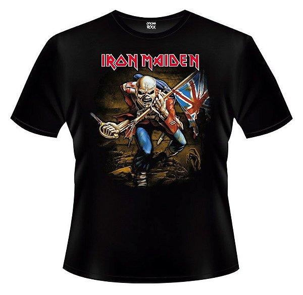 Camiseta - Iron Maiden - The Trooper.