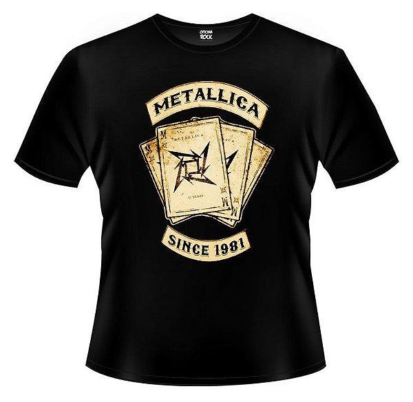 Camiseta Metallica - Letters