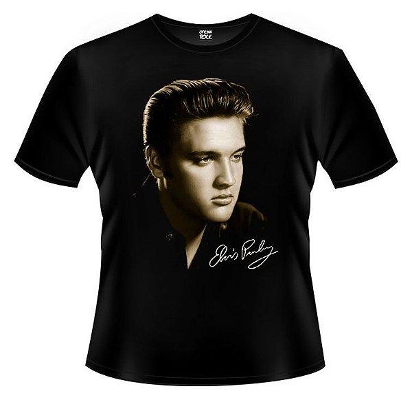 Camiseta Infantil Elvis Presley