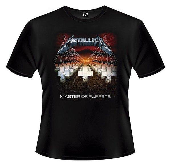Camiseta Infantil Metallica - Master of Puppets
