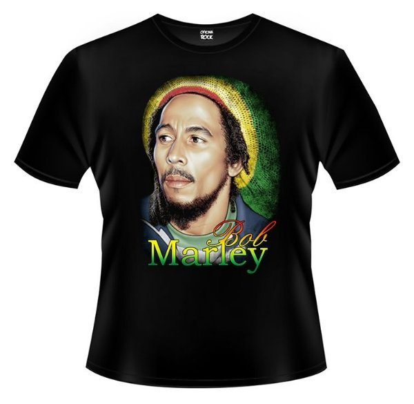Camiseta PP Bob Marley