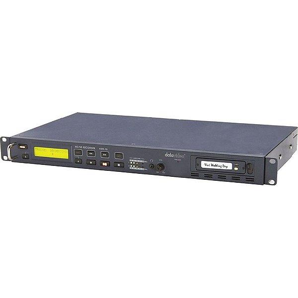 Gravador DataVideo HDR-70 para SD/HD-SDI