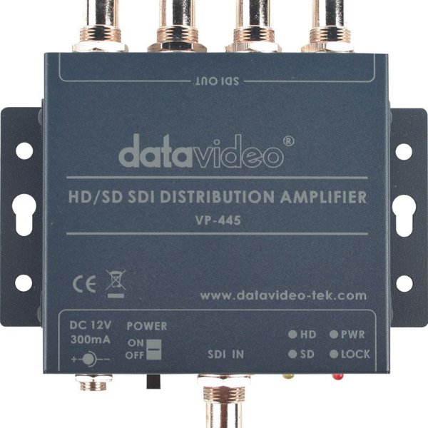 VP-445 Distribuidor amplificador HD/SD-SDI - Datavideo