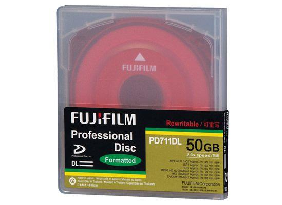 Mídia XDCAM PROFESSIONAL PD711DL 50GB - FUJIFILM