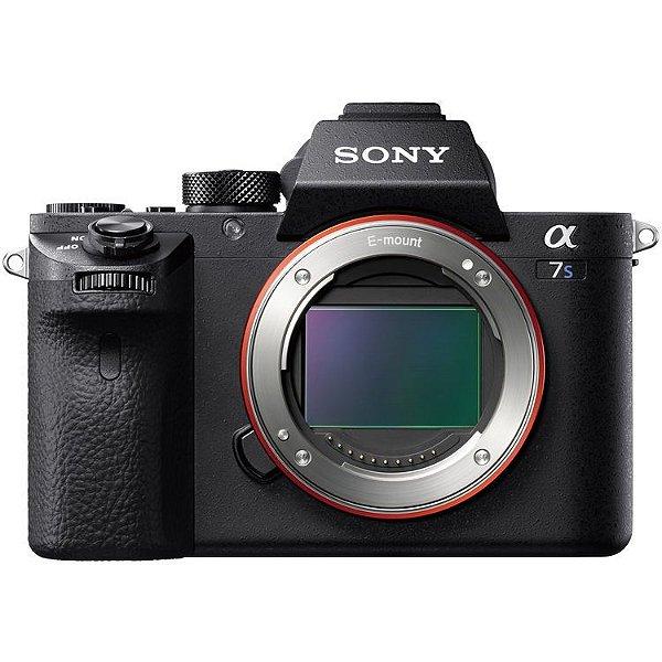 Câmera Sony Alpha a7S II Mirrorless com Sensor Full-Frame - Sony