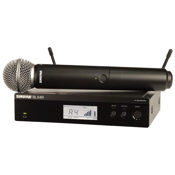 Microfone de mão sem fio BLX24R/SM58 - Shure