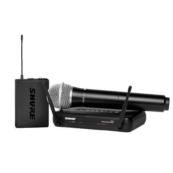 Microfone de mão sem fio SVX24/PG28 - Shure