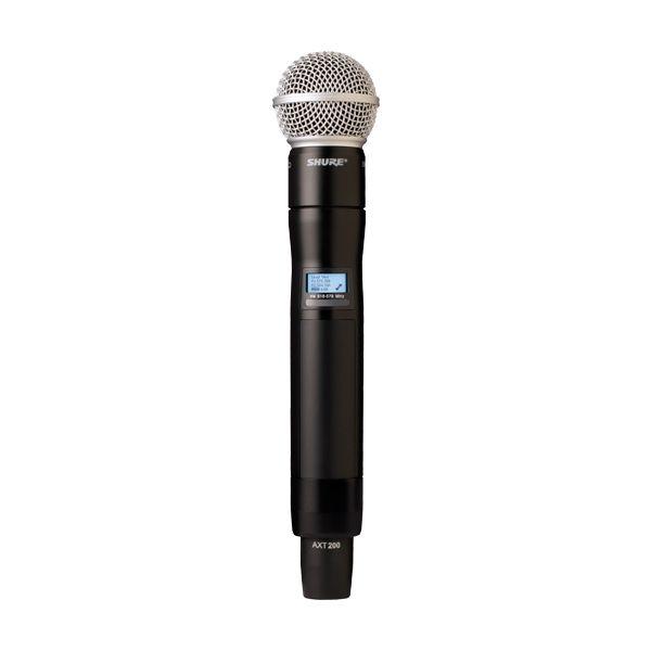 Microfone de mão sem fio Axient AXT200/K8B-J5 - SHURE