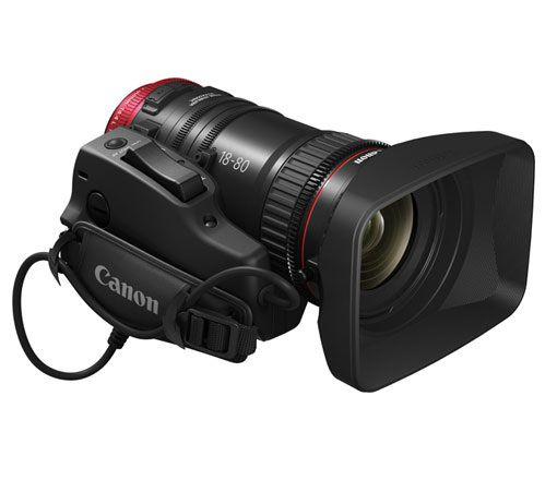 Lente Canon 18-80mm T4.4 EF Cinema Compact-Servo