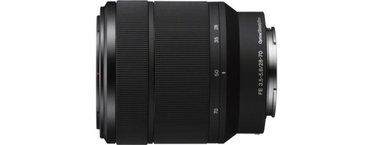 Lente SEL2870 FE 28-70 mm F3.5-5.6 OSS - Sony