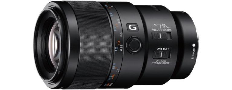 Lente SEL90M28G Macro G OSS F2.8 FE de 90 mm - Sony
