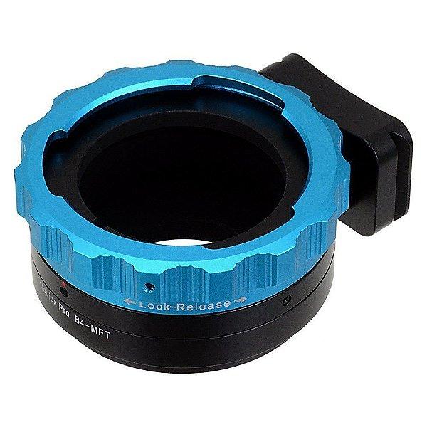 Adaptador pro Lens Mount B4 to micro 4/3 - Fotodiox
