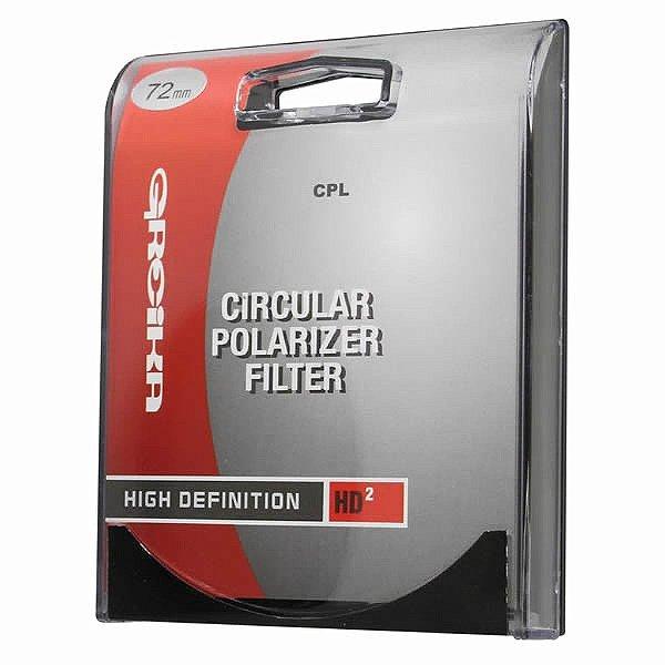 Filtro 72MM Polarizador FPC72 - Greika