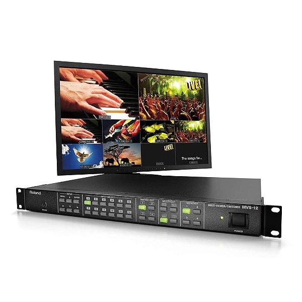 Multi-viewer e Switcher MVS-12 - Roland