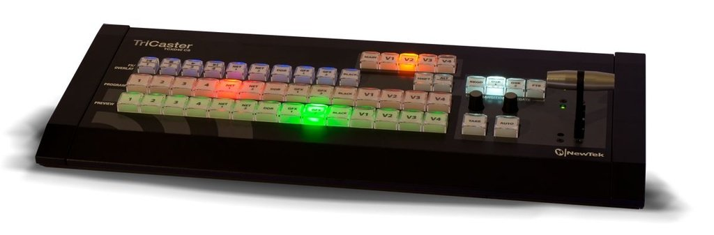 Superfície de Controle TriCaster 40 - NewTek
