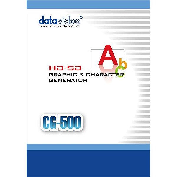 Gerador de Caracteres CG-500 - Datavideo