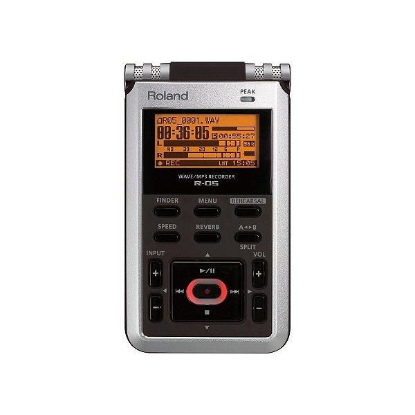 Gravador portátil R-05 - Roland