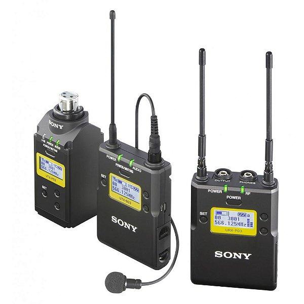 Transmissor plug-on (Docker), transmissor de bolso e receptor portátil UWP-D16 - Sony