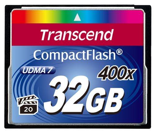 Cartão de Memória Compact Flash CF 32GB - Transcend