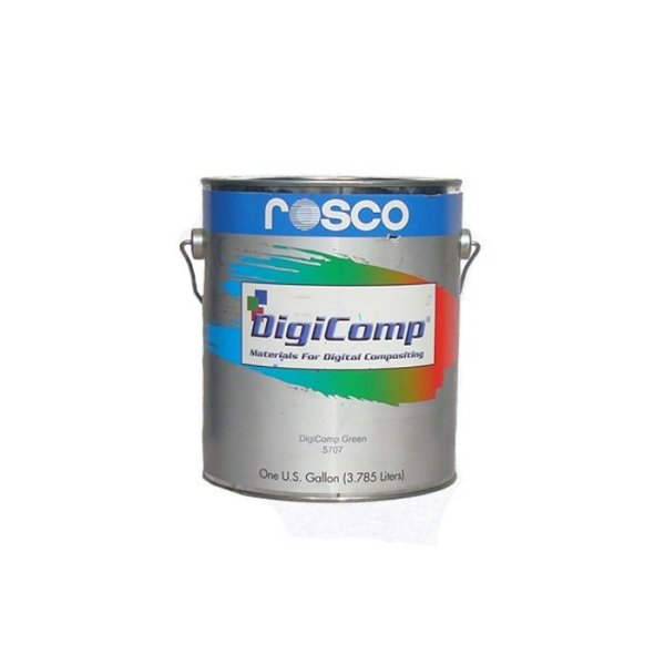 Tinta para Chroma Key Azul 3,78L Digicomp - Rosco