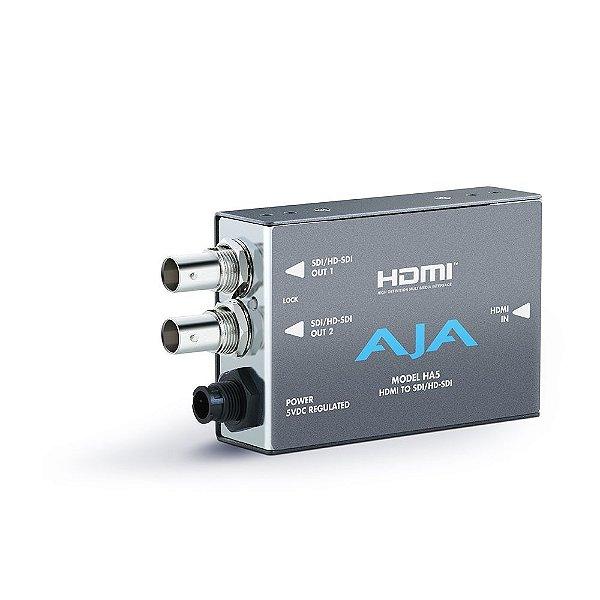 HA5 Conversor HDMI para SD / HD-SDI - AJA