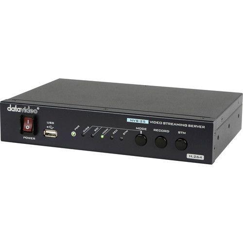 Encoder e Video Streaming NVS-25 - Datavideo