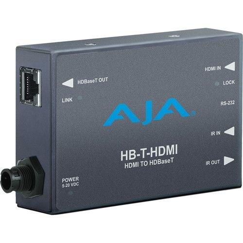 Transmissor AJA HDMI para HDBaseT