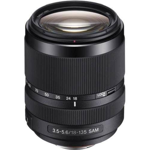 Lente Sony 18-135mm f/ 3.5-5.6