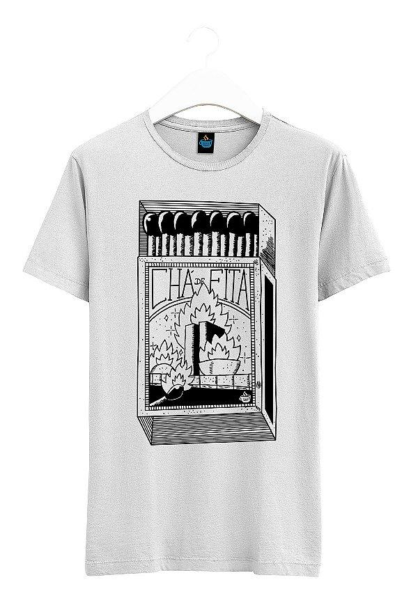 Camiseta Estampada Queimem o Planalto