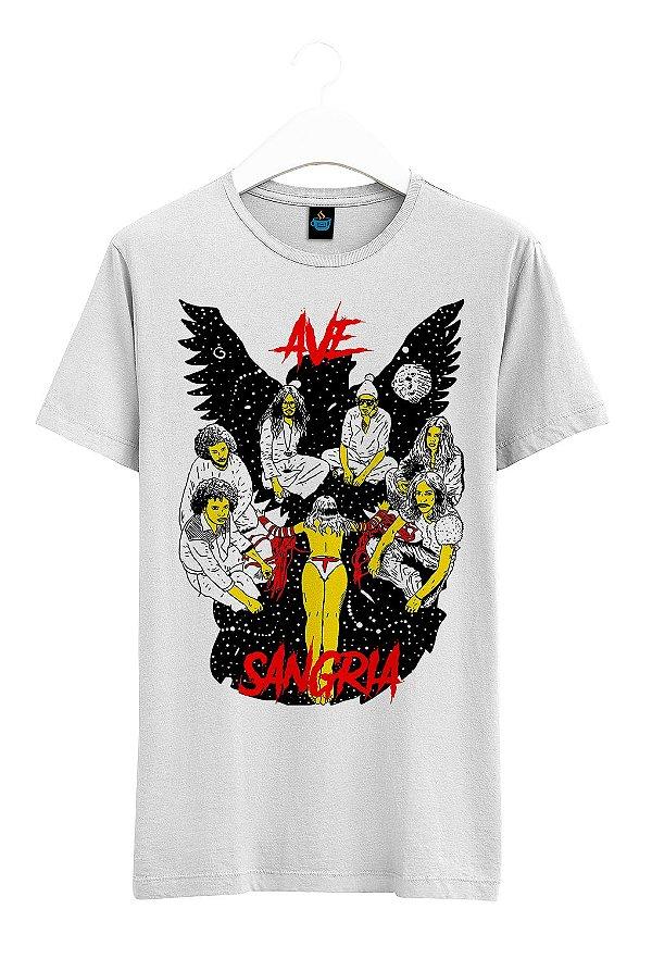 Camiseta Estampada Ave Sangria