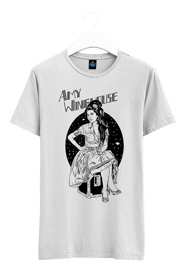 Camiseta Estampada Amy Winehouse